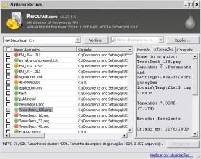 Recuperando Arquivos Deletados